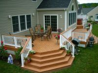 backyard deck ideas for small backyard | House | Pinterest ...