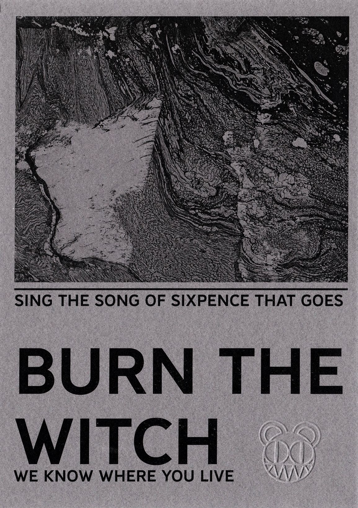 Gravity Falls Iphone 7 Plus Wallpaper Radiohead Quot Burn The Witch Quot Pamphlet Edited Dvd Bd Art