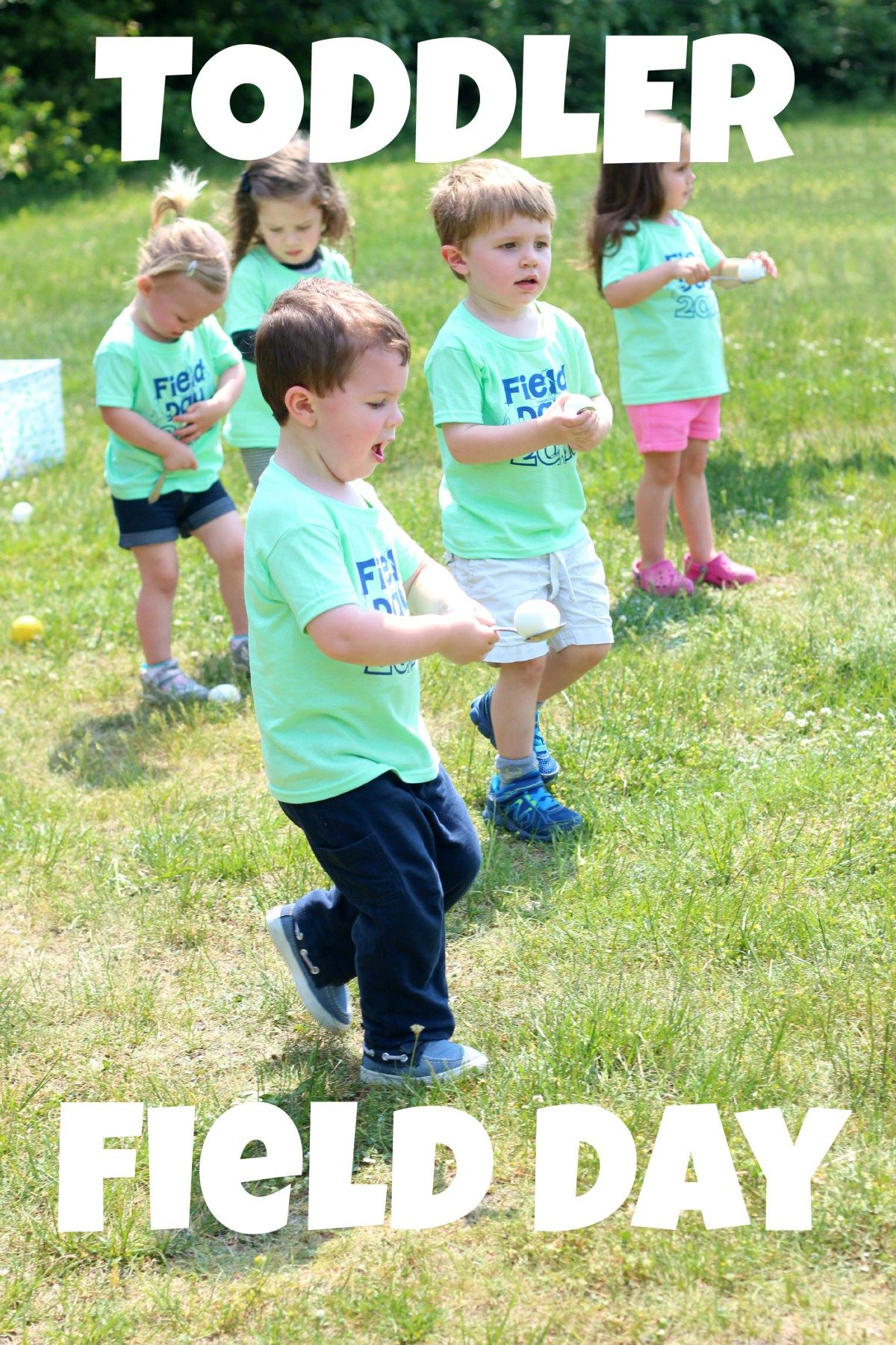 Toddler Field Day Outdoor Activity Day For Pre