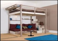 Loft Beds for Adults | Marvelous Mahogany Loft Bed For ...