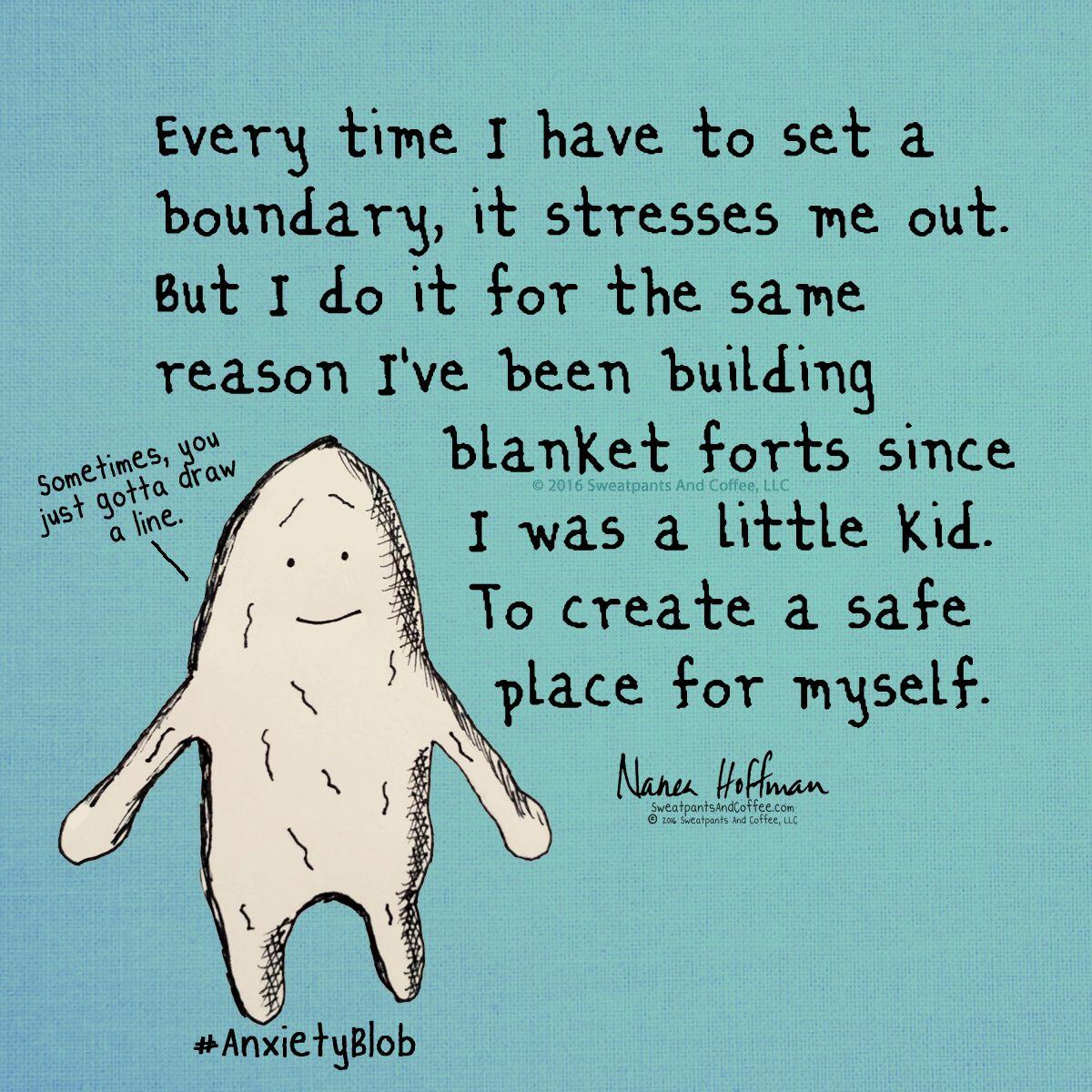 Boundaries Are Necessary Anxietyblob