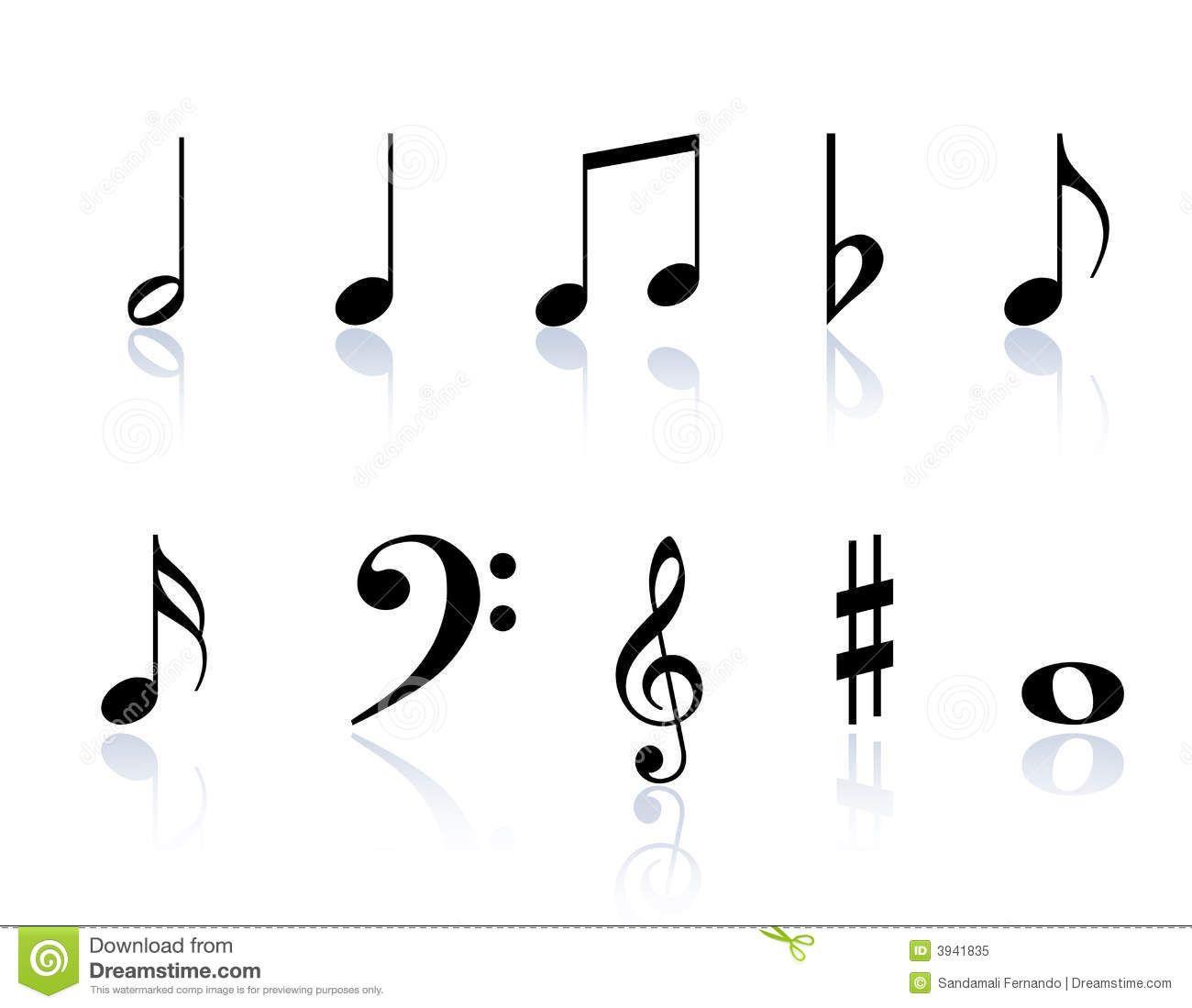 Music Notes Symbols Something Interesting