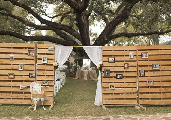 DIY Outdoor Ceremony Space Photos By Mustard Seed Photography