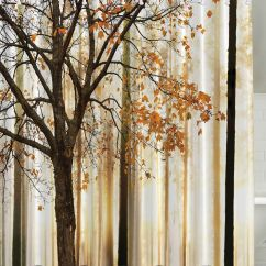 Fall Kitchen Curtains Dishes Set Amazon Shower Curtain Trees Print Mom Gift Ideas
