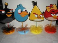 Angry Birds Birthday Party Centerpieces DIY   Angry Bird ...