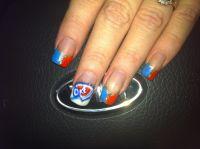 Okc Thunder Nails Kathy Reihm Classy Cut,Enid, Ok | beauty ...
