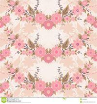 pink vintage flower backgrounds hd | PATTERNSPRINTS ...