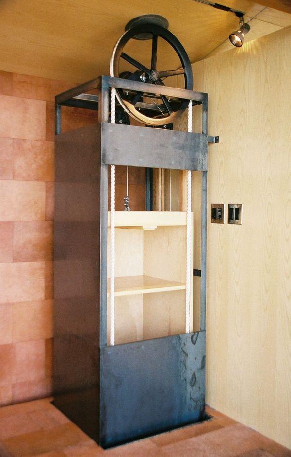 Dumb Waiter Elevator Pulley Design