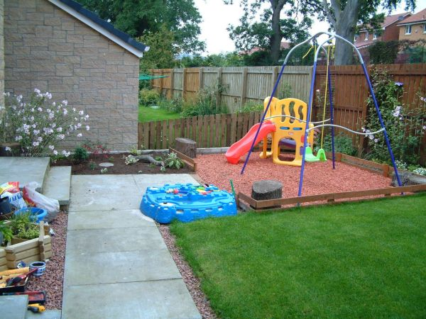 Kids Garden Play Area Idea