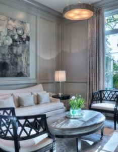 The new french country manor born living room  carolina home garden magazine also parlor view  love for my pinterest mindful gray rh uk