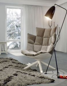 Wonderful home interior design by  dsn contemporary cream outdoor arm chair and black floor lamp also rh pinterest