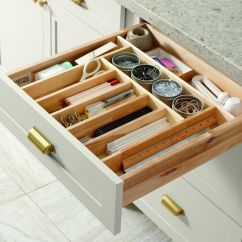 Kitchen Drawer Organizer Ideas Stainless Steel Wall Panels For Commercial Keep Your Organized With Built In