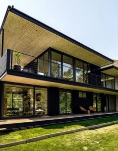 Architecture also architect designed house flat roof pinterest design rh