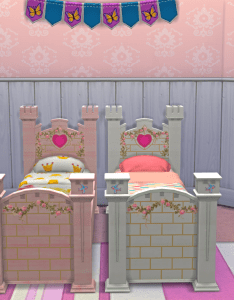 Josiesimblr   princess castle bed  cute little converted for your also rh za pinterest