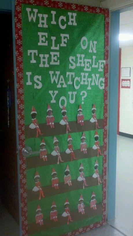 Christmas door decorating contest