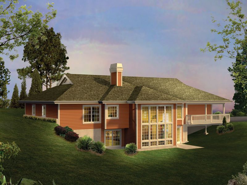 Home Plans For A Passive Solar Earth Sheltered Home At Deep