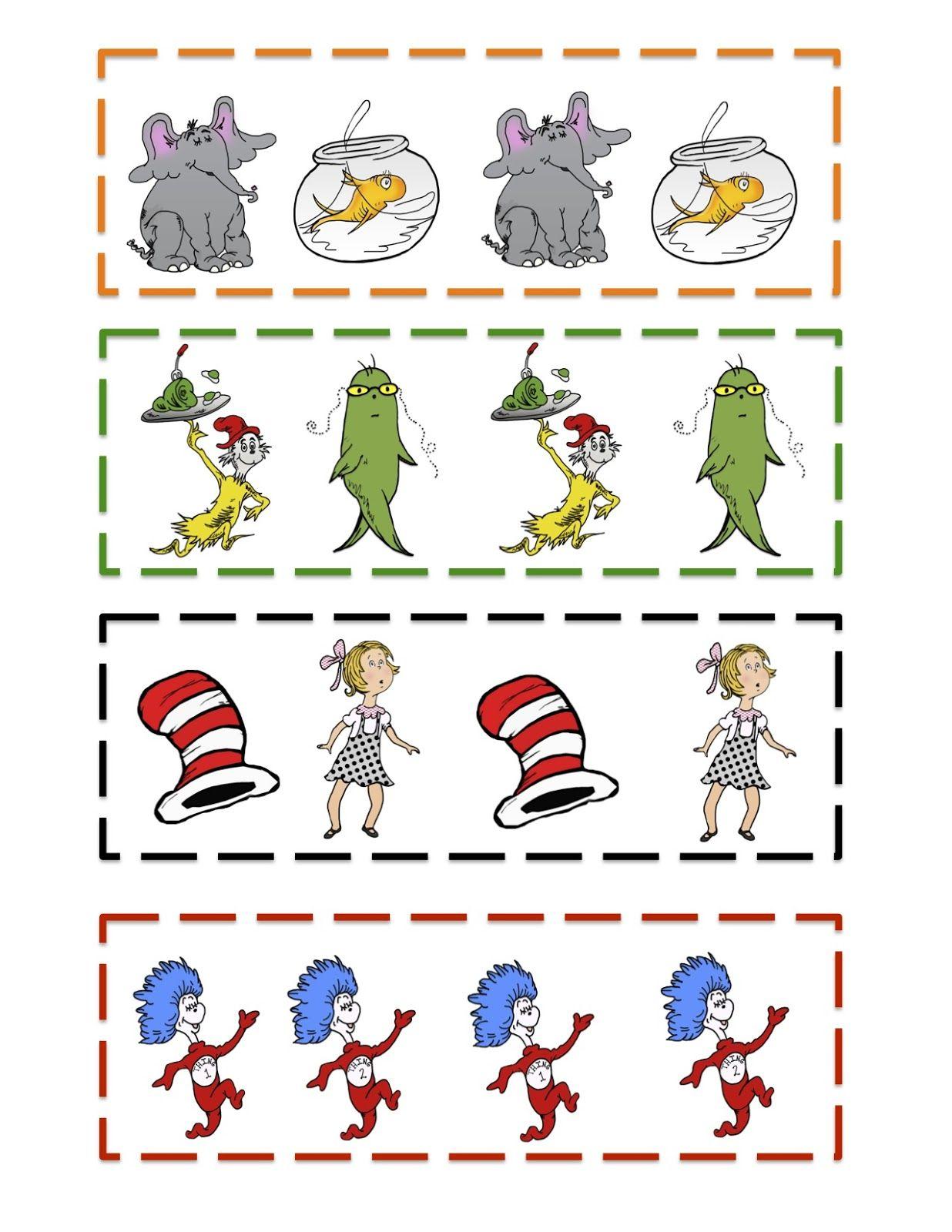 Preschool Printables Week 24