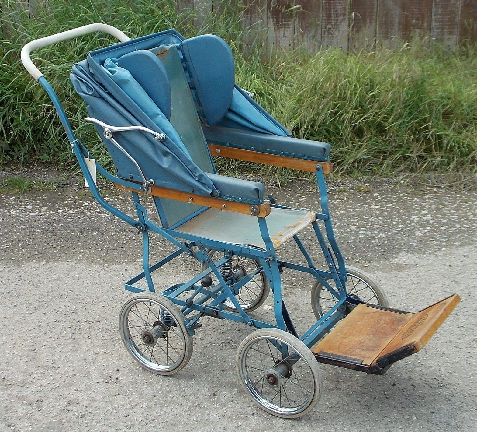 wheelchair ebay swivel chair bar stool original vintage allwin child 39s folding with