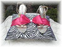Quinceanera Shoe Kneeling Pillow Purple ribbon! | Naty's ...