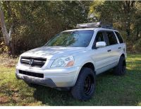 Lifted Honda Pilot Off-road Roof Rack | Lifted Hondas ...