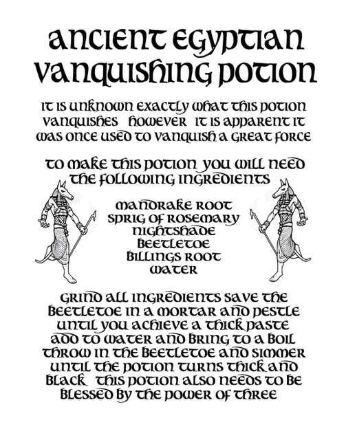 Real Witch Potion Recipes