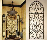 Tuscan Iron Wall Decor - Love the Tuscan decor bathroom ...