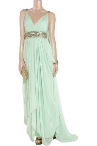 Mint Greek goddess dress This is the front of the other ...
