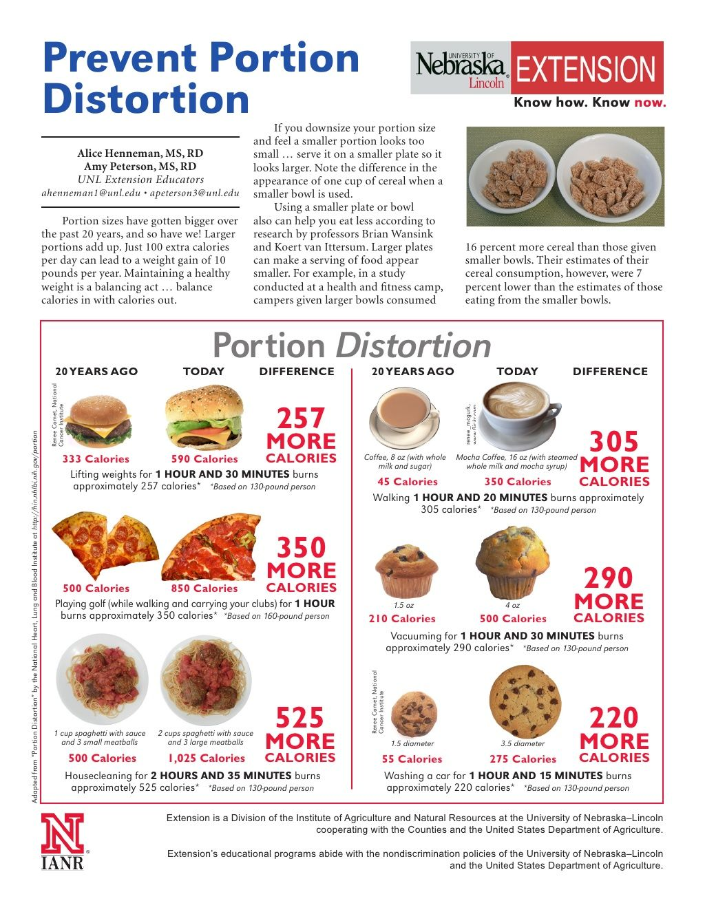 Printable Nutrition Education Handouts  Nutrition Ftempo