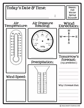 Daily Weather Records, elementary activity measure air