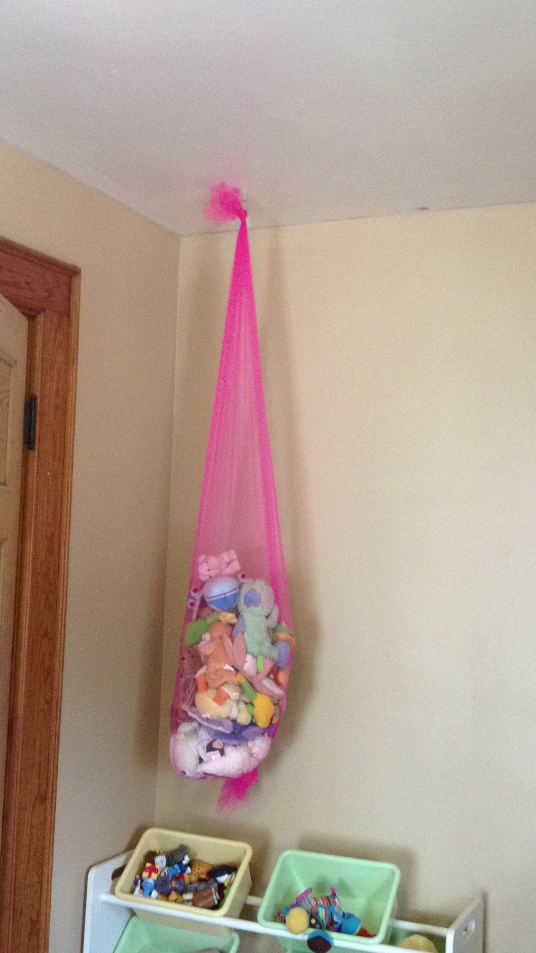 Tulle By The Yard Used For Small Stuffed Animal Storage