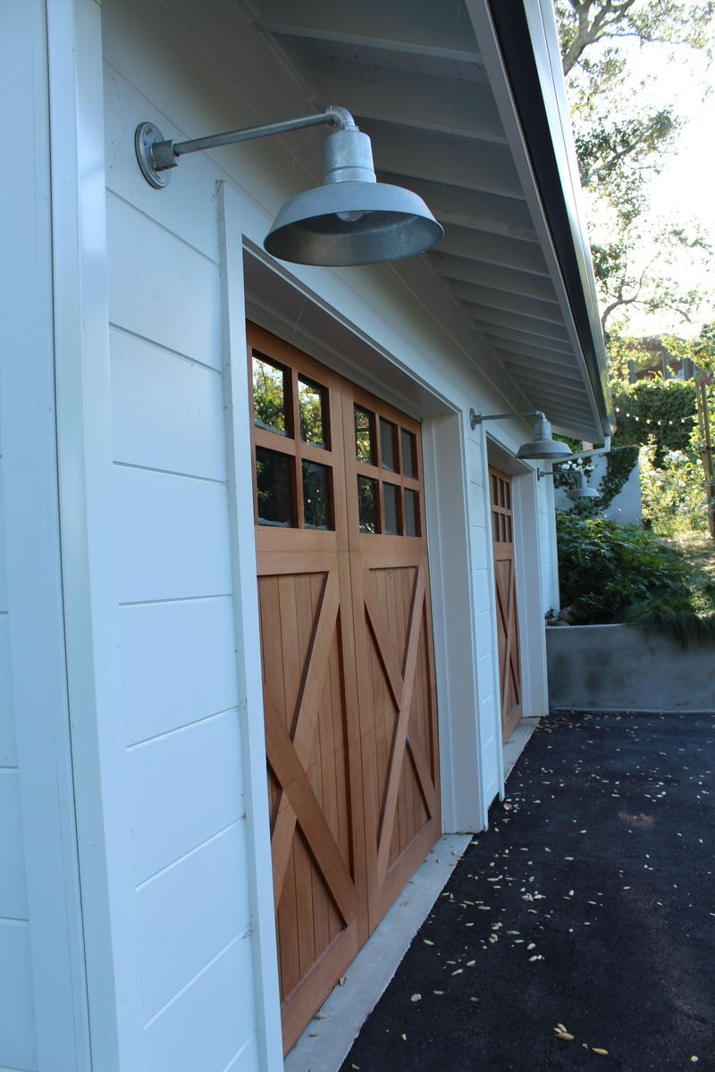 Galvanized goes with garages  serenaarmstrong