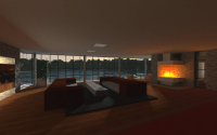 Modern Minecraft Living Room | mind-crafting | Pinterest ...