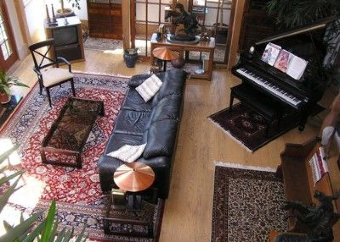 also the versatility of persian rugs and natural light