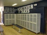 football locker room decorations - Google Search | Gym ...