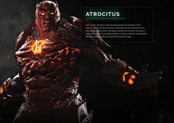 Atrocitus Injustice 2 Character Portrait injusticecom