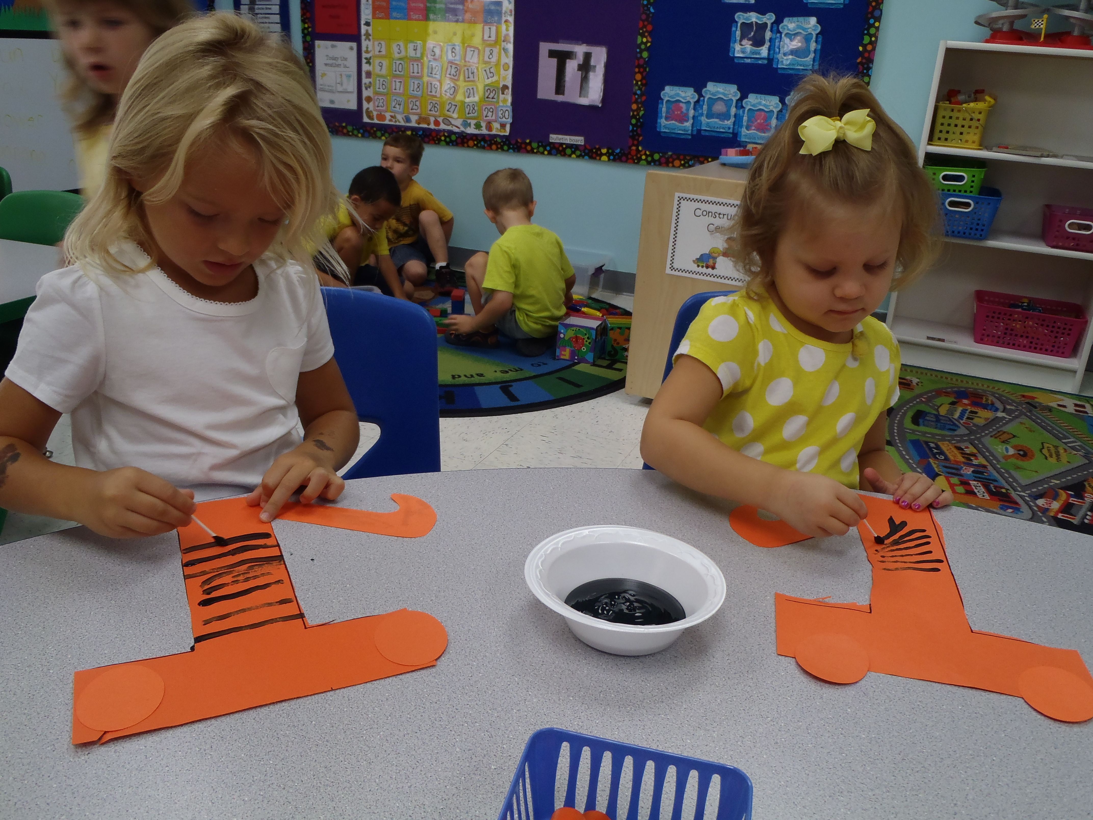 T Is For Tiger Letter Craft