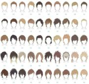male hair reference pinteres