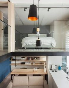 Home designing  via  modern loft with character also rh za pinterest