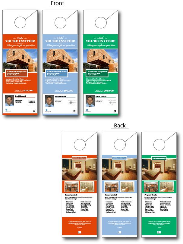 """Open House"""" Door Hanger Real Estate Ideas Pinterest Open"""