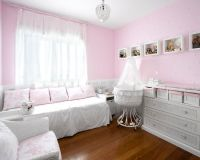 Bedroom Design, Traditional Baby Girl Bedroom With Light ...