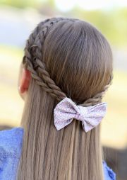 cute wedding hairstyles kids