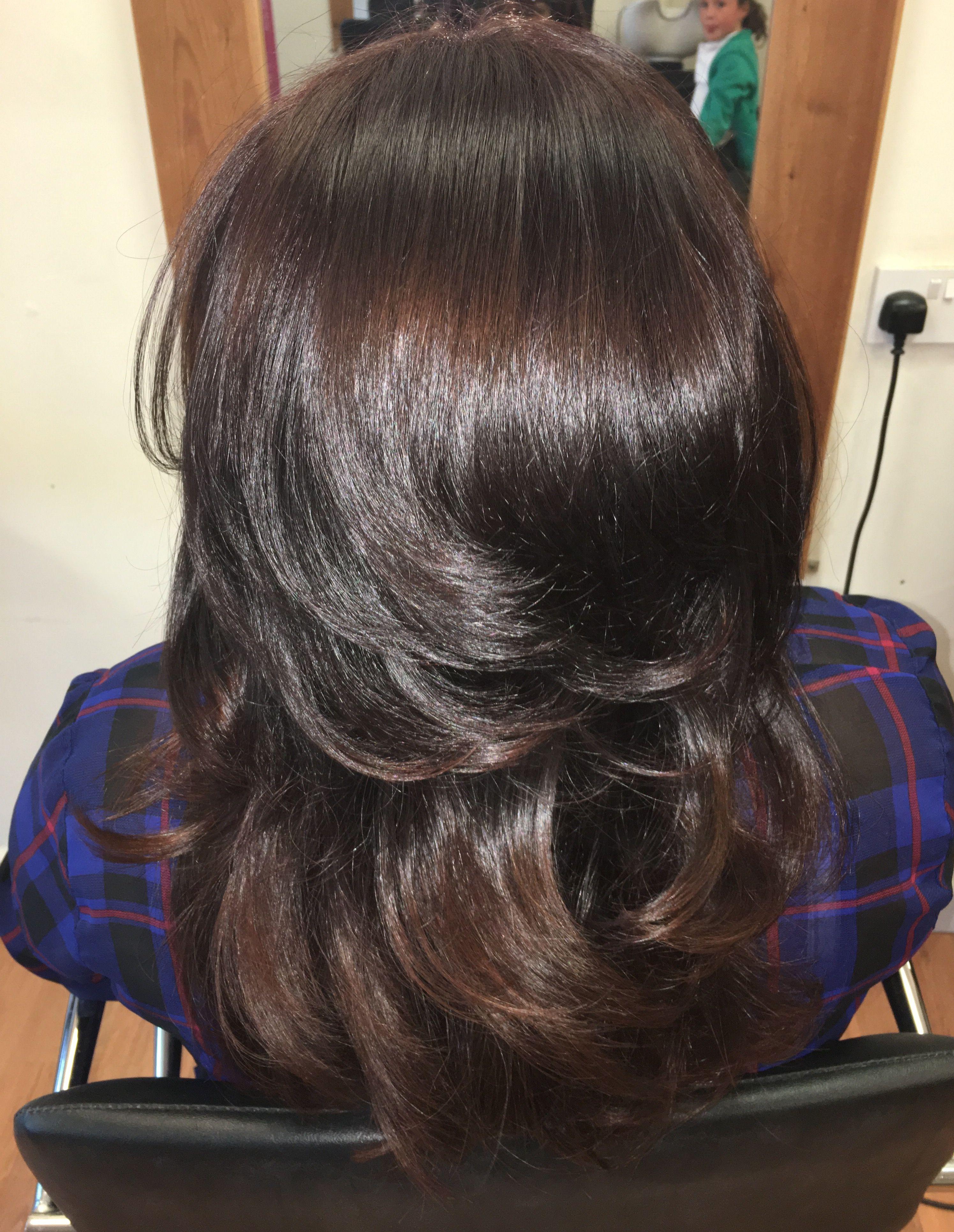 Super shiny bouncy curls Hair Pinterest