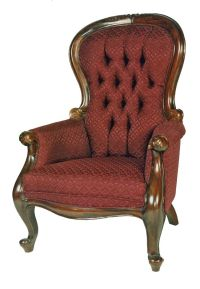 victorian-style-mahogany-spoon-back-armchair-x28-frame ...