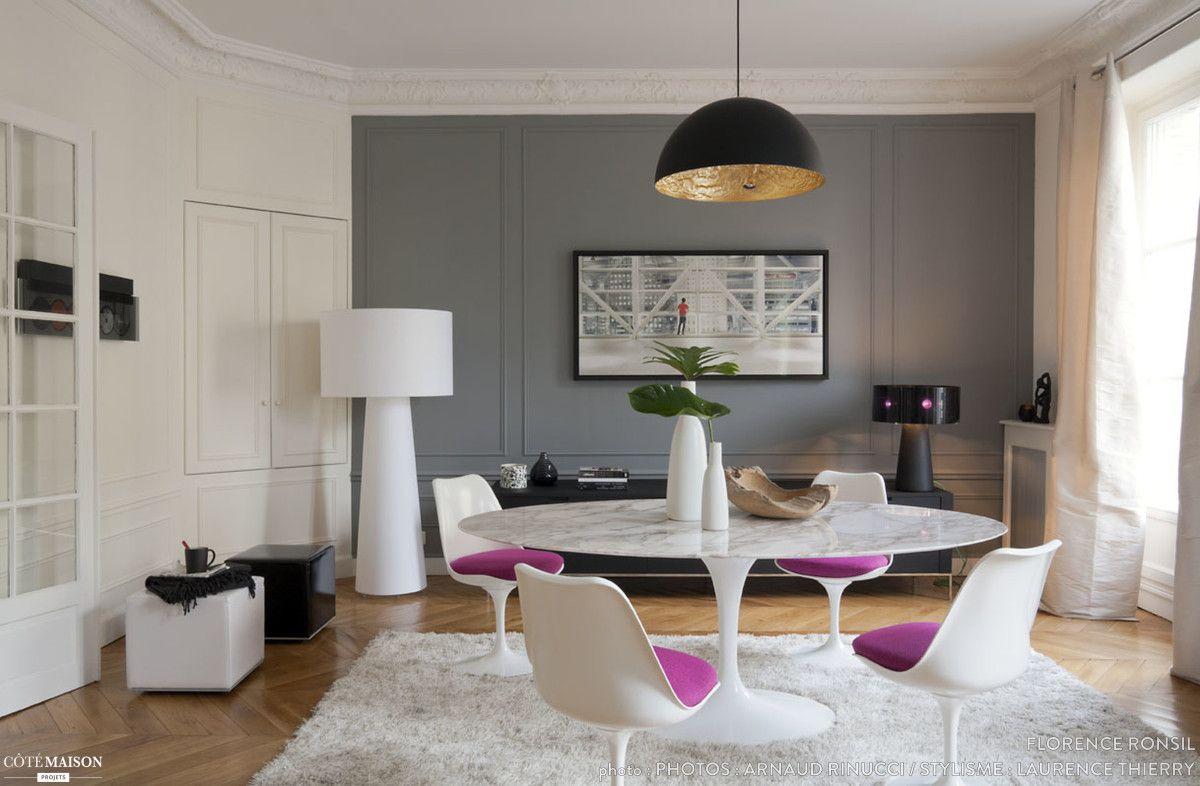 appartement hausmannien renovation realisee par l agence paris sweet home deco projet de l