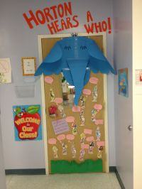 Horton Hears a Who door decoration for Read Across America ...