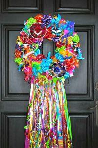 """""""San Antonio Fiesta"""" wreath but also great for Cinco de ..."""