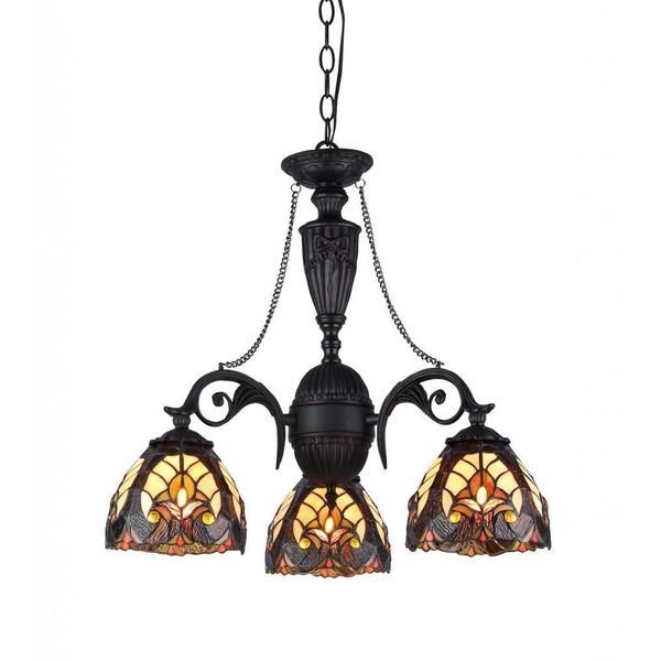 Tiffany Style Victorian Design 3 Light Chandelier Ping Great Deals On