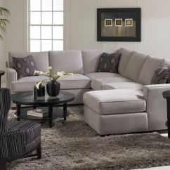 Klaussner Loomis Sectional Sofa Kmart Bed Australia Love The Accent Pillows And Simplicity Of Gray