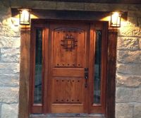Best 25+ Rustic front doors ideas on Pinterest | Farmhouse ...