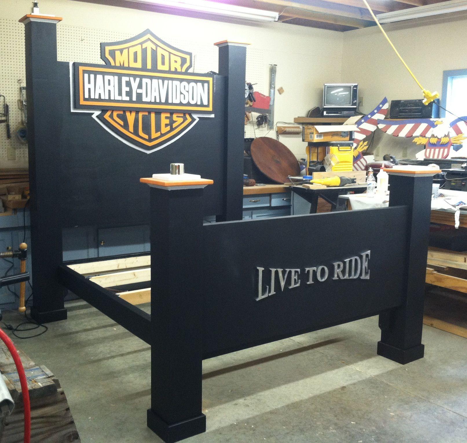 7 5 Harley Davidson Bed